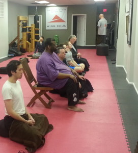 Group Meditation : Chicago Wednesday @ The Philip Nearing School of Wing Chun